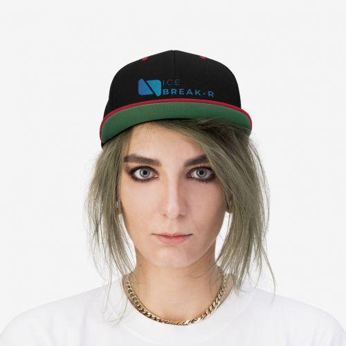 IceBreak-R Unisex Flat Bill Hat